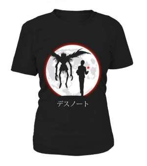 T Shirt Femme Death Note Light X Ryuku Moon