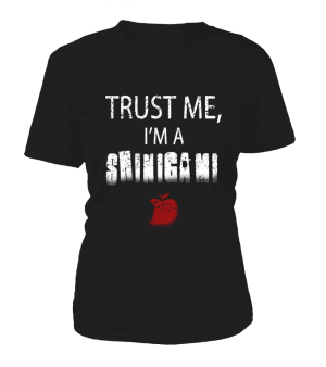 T Shirt Femme Death Note Trust Me I'm A Shinigami