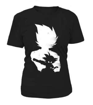 T Shirt Femme Dragon Ball Z Goku Evolution