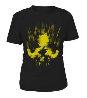 T Shirt Femme Dragon Ball Z Goku Super Saiyan