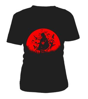 T Shirt Femme Naruto Itachi Moon