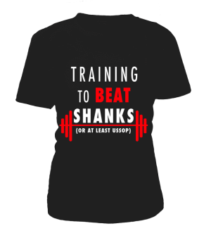 T Shirt Femme One Piece Training To Beat Shanks