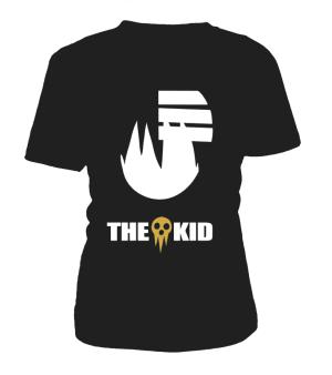T Shirt Femme Soul Eater Death The Kid