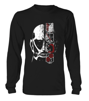 T Shirt Attack On Titans Colossal Titan 2