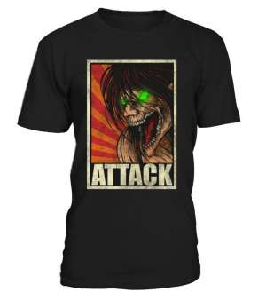 T Shirt Attack On Titans Eren Titan