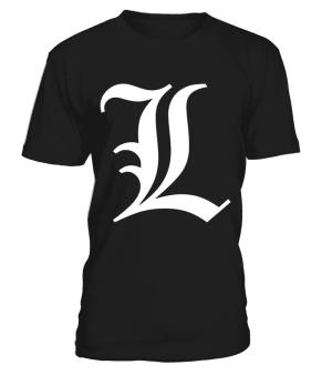 T Shirt Death Note L