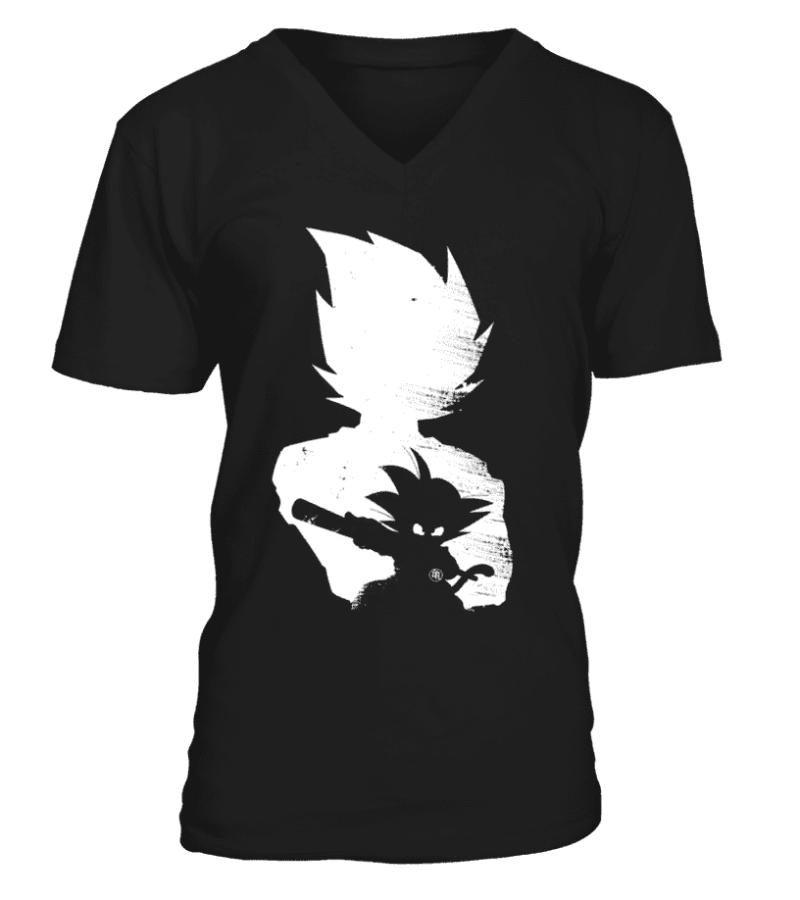 T Shirt Dragon Ball Z Goku Evolution
