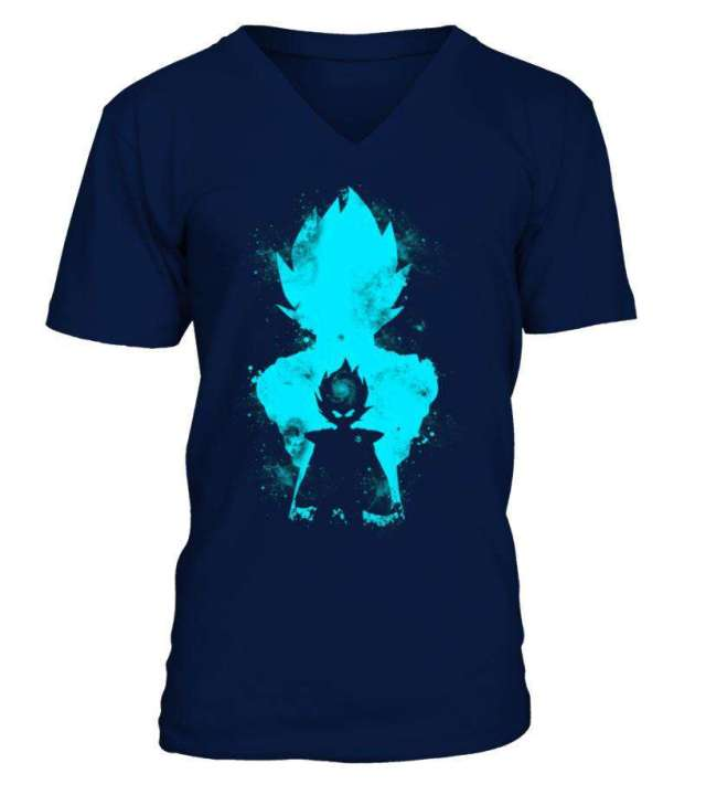 T Shirt Dragon Ball Z Vegeta Evolution