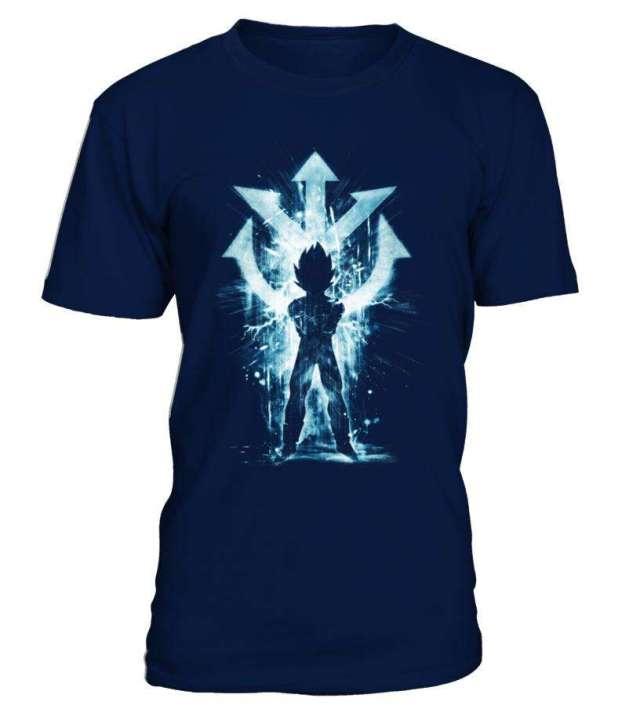 T Shirt Dragon Ball Z Vegeta Symbôle