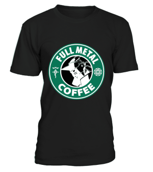 T Shirt Full Metal Alchemist Coffee