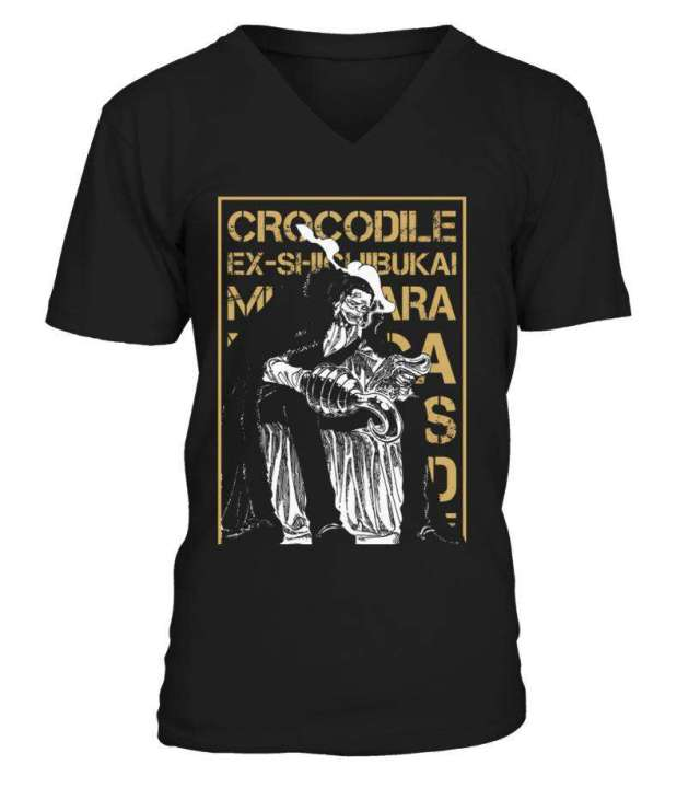 T Shirt One Piece Crocodile Wanted