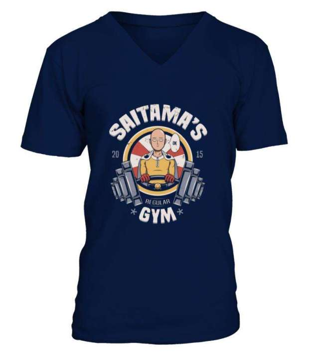 T Shirt One Punch Man Saitama Gym