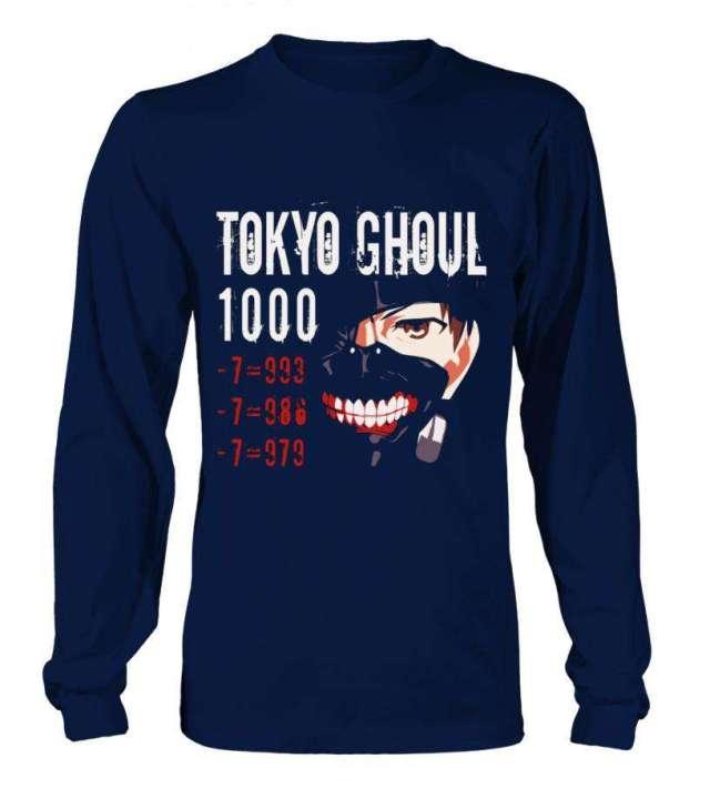 T Shirt Tokyo Ghoul Kaneki 1000-7