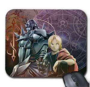 Tapis de Souris Full Metal Alchemist Edward X Alfonse