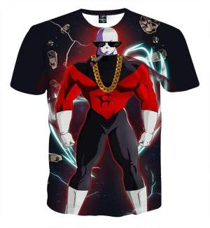 T Shirt 3D All Over Dragon Ball Super Jiren Badass