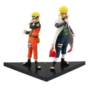 Lot de 2 Figurines Naruto X Minato