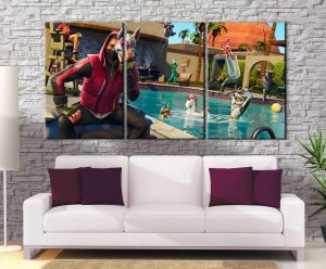Décoration murale Fortnite Drift Mask Swimming Pool