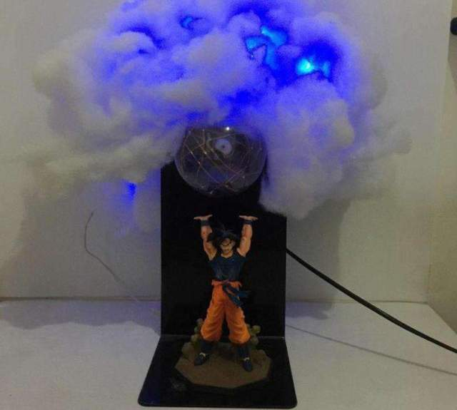 Lampe Dragon Ball Z Goku Nuage Genkidama