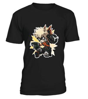 T-Shirt My Hero Academia Bakugo Chibi