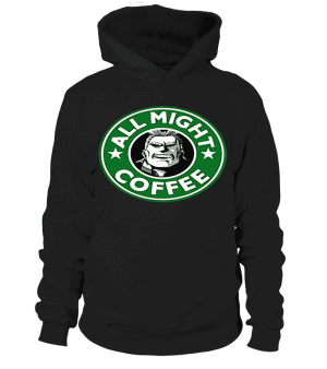 Pull à capuche My Hero Academy All Might Coffee