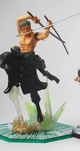 Figurine One Piece Zoro Battle