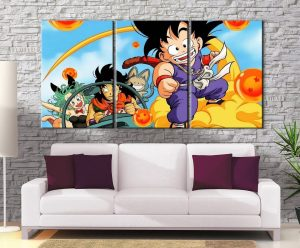 Décoration murale Dragon Ball Origines