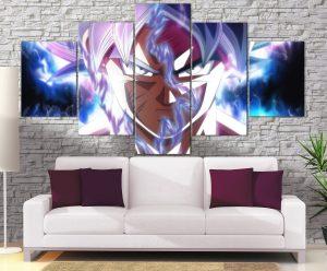 Décoration murale Dragon Ball Super Goku Ultra Instinct Unleash