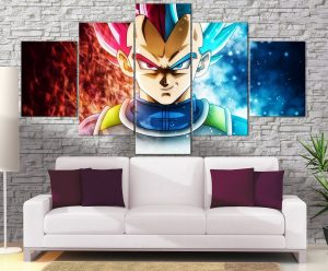 Décoration murale Dragon Ball Super Vegeta Double Forme