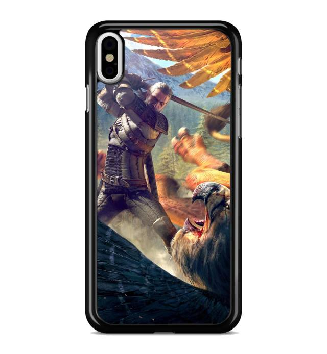 Coque The Witcher Gerald Vs Griffon