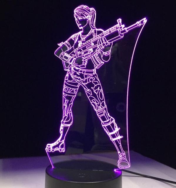 Lampe LED Fortnite Sniper