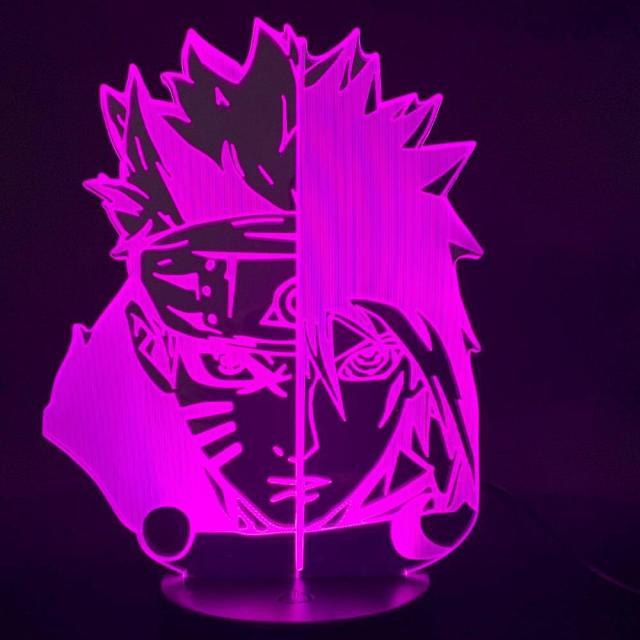 Lampe Led Naruto Vs Sasuke