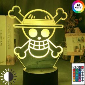 Lampe One Piece Drapeau Mugiwara