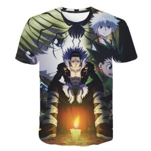 T Shirt 3D Hunter X Hunter Chrollo