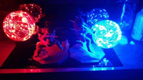 Lampe Dragon Ball Z Goku X Vegeta photo review