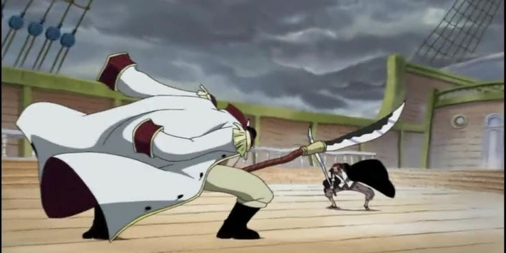 shanks vs barbe blanche