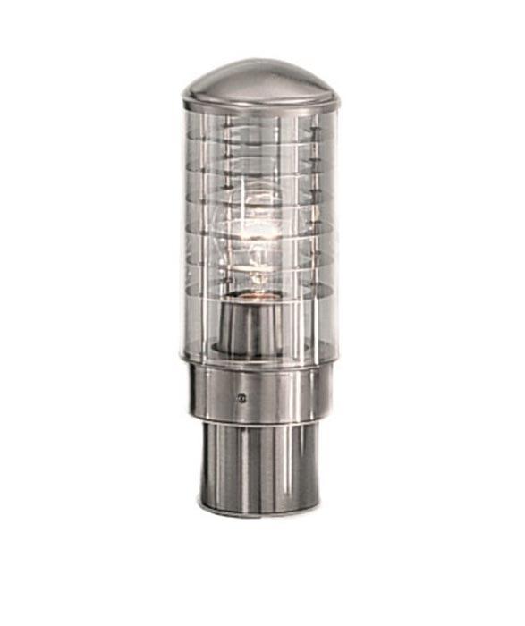 terran marine grade 316 stainless steel outdoor pedestal light ip44 ext6491