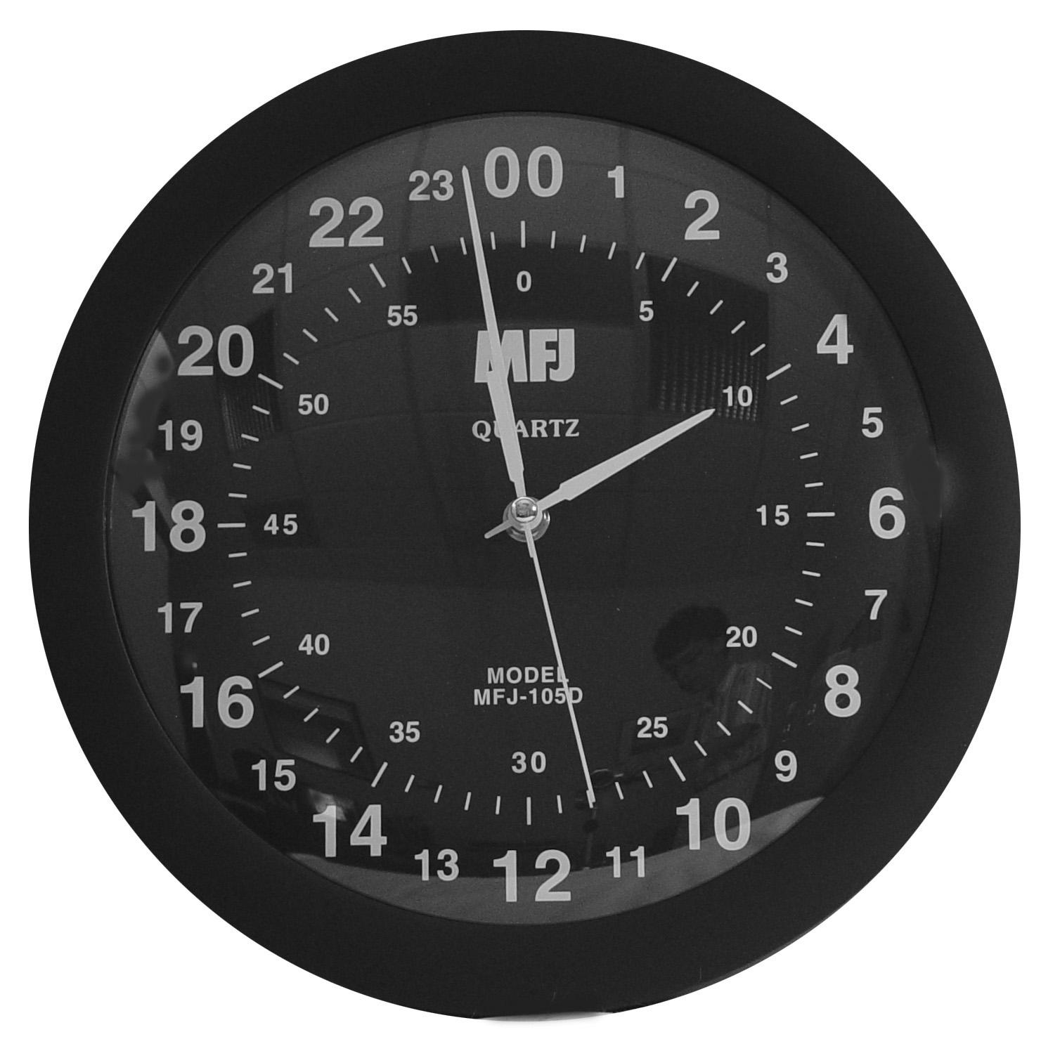 Mfj 105d 24 Hour Wall Clock