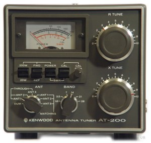 Kenwood AT200 Antenna Tuner at200