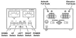 Yaesu G5500 Rotor Specifications