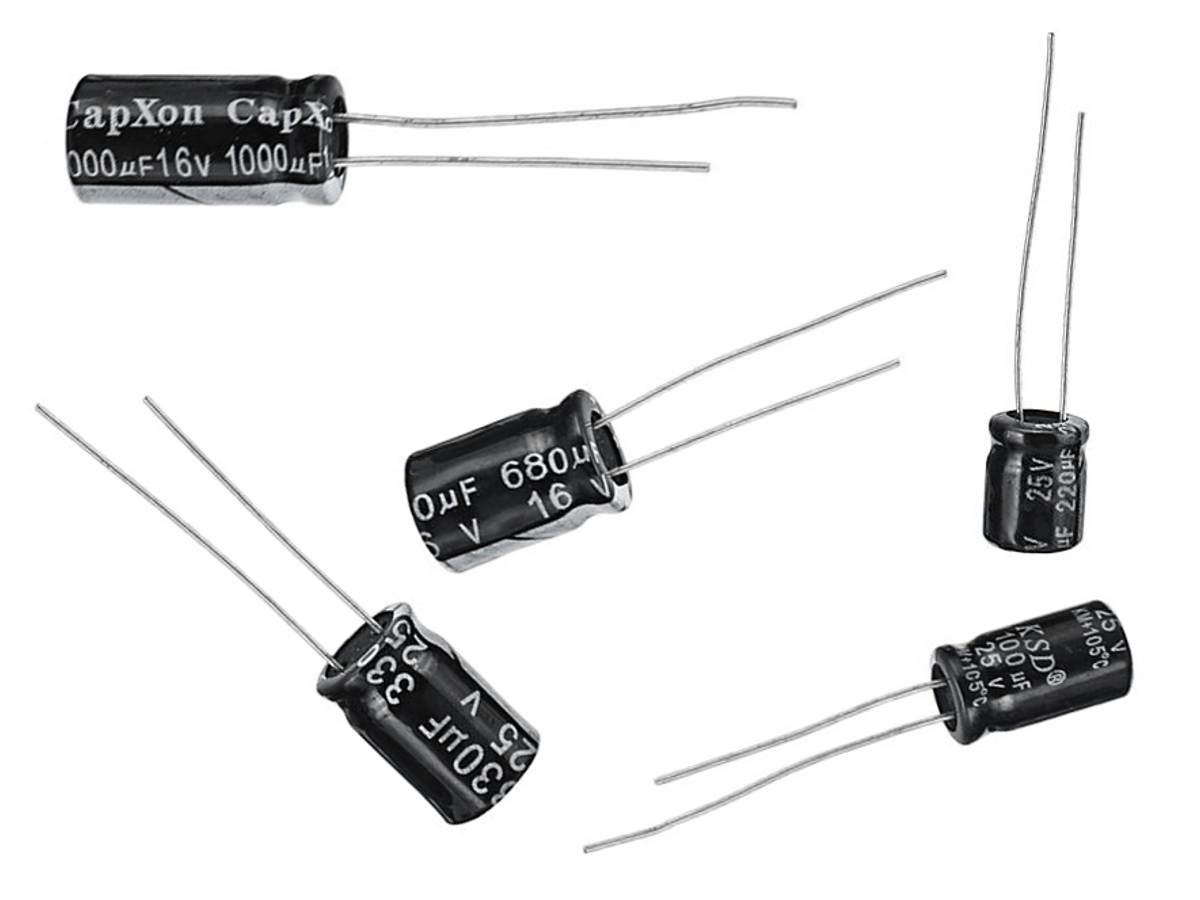 Electrolytic Capacitor F 25v 5mm