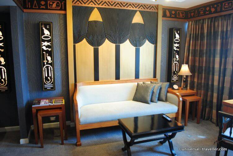 The Pharaoh suite inspired by the richness and magnificence of ancient Egypt.