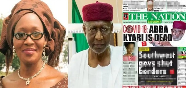 IMG_20200419_114446_054 Kemi Olunloyo threatens to sue The Nation Newspaper for claiming Abba Kyari's death gave her fame