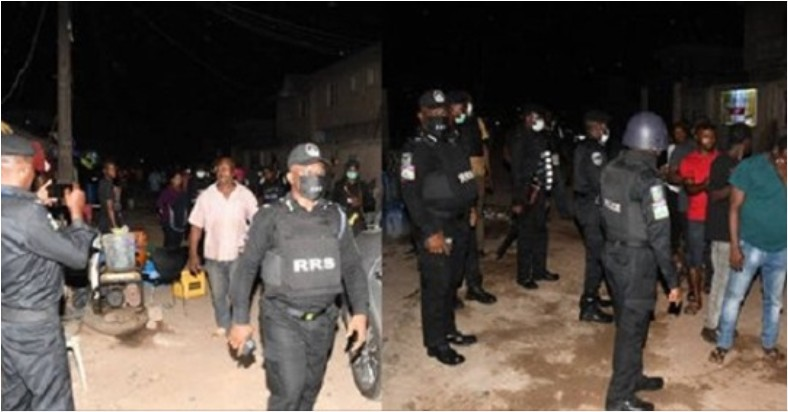 UCScreenshot20200418155448 Bar owner and his customers arrested for violating lockdown order in Lagos (Photos)