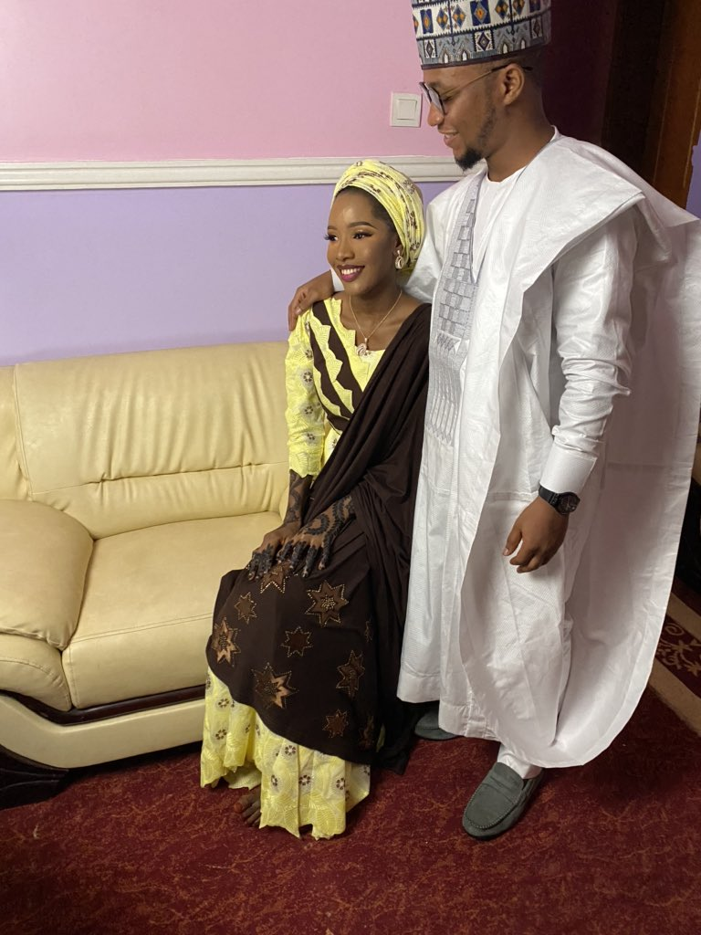 Ea-7DTDXYAMgRrq Nigerian couple marry after meeting on Twitter 18 months ago (photos)
