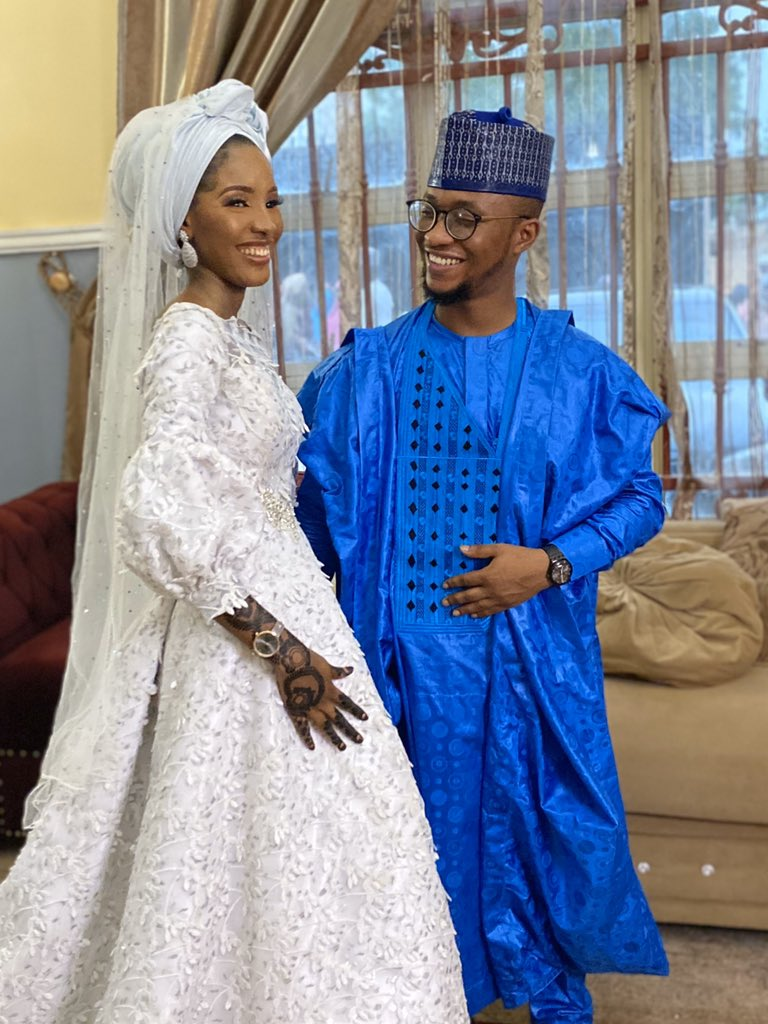 Ea-7DTHXgAEwk9b Nigerian couple marry after meeting on Twitter 18 months ago (photos)