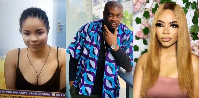 """UCScreenshot20200919204455 """"At the age of 15, I sent Don Jazzy a love message and he replied"""" – Nengi reveals (Video)"""