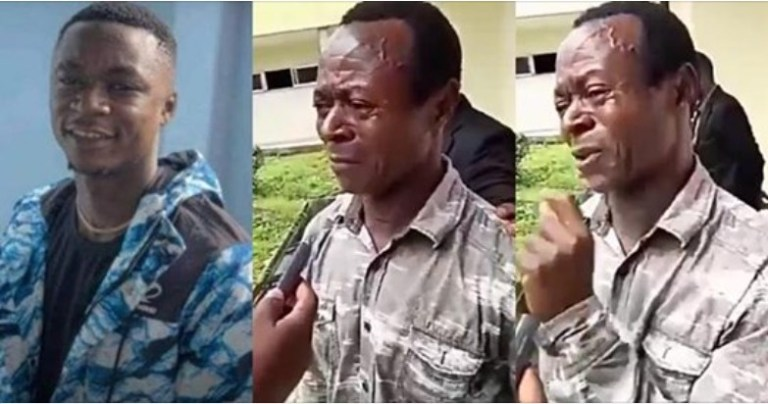 "UCScreenshot20200925110022 ""There was no war but they just wasted my son"" – Father of young boy killed by a policeman in PH cries out for justice (Video)"