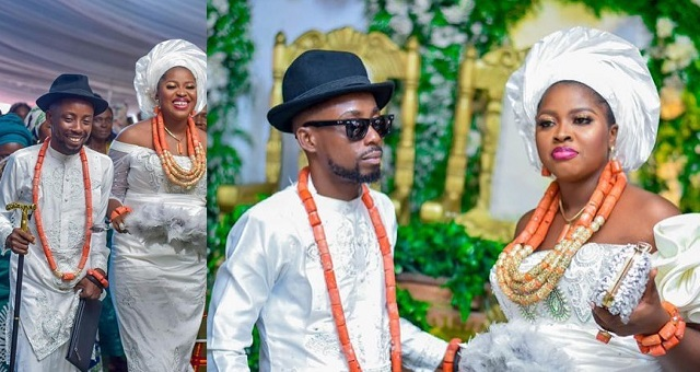 120470104_249155339850693_2708132920008225268_n-1 Rapper Erigga Ties The Knot With Nikki in Delta State