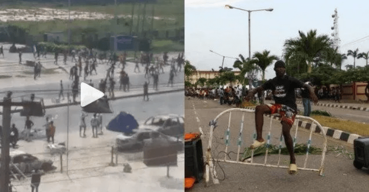 Screenshot_2020-10-21-Mob-overpower-policemen-and-seize-their-guns-in-Ajah-videos Mob overpower policemen and seize their guns in Ajah(video)