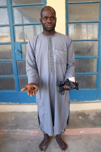 5fd09d4325265 Two men who allegedly removed dead man's eyeball for rituals arrested in Niger state